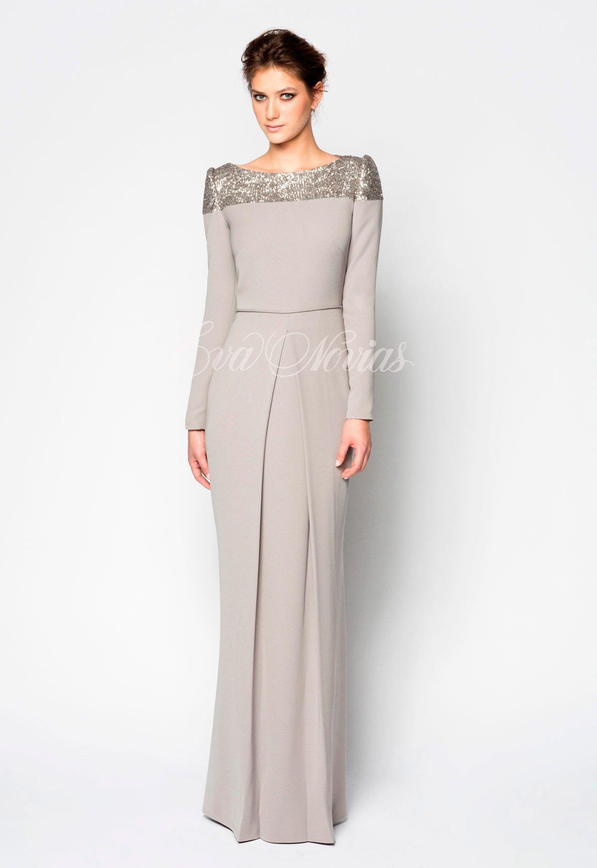 Vestido de fiesta de la firma Victoria coleccion 2017 Modelo ...