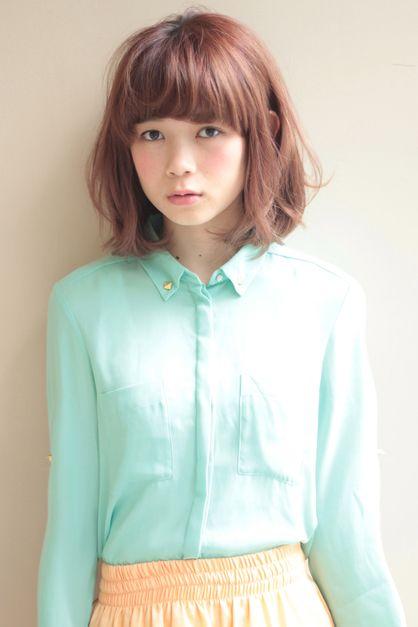 ニュアンスパーマボブ|アフロートジャパン 【銀座の美容室】のヘアスタイル