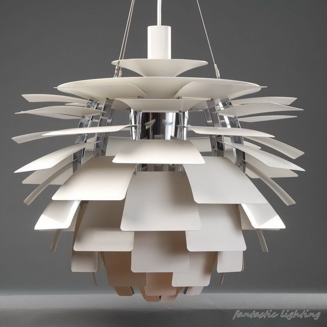 56cm free shipping poul henningsen ph artichoke ceiling light the ph artichoke pendant is considered to be a classical masterpiece made by poul henningsen more than 40 years ago mozeypictures Images