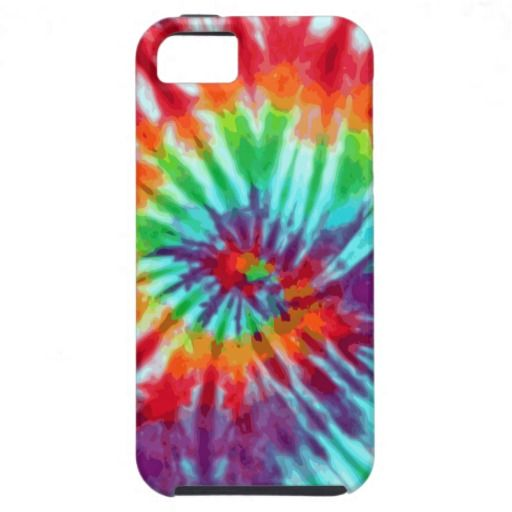 Green Spiral Tie-Dye Casemate iPhone 5 iPhone 5 Covers #iphone5 #case #art #tie-dye #zazzle