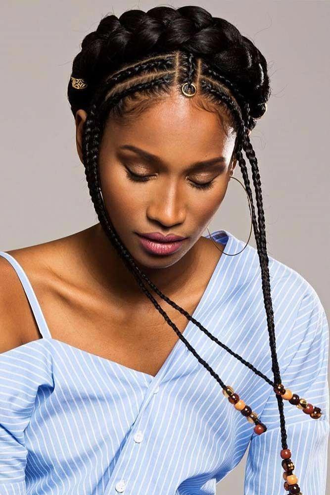 cute braided hairstyles for black womens  ...