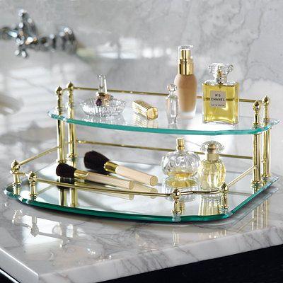 belmont twotier vanity tray