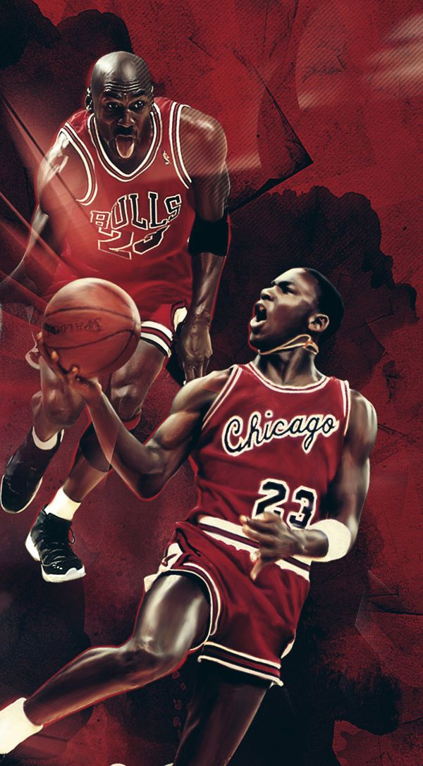 premium selection 080a2 14ee7 Michael Jordan - 50th birthday by Caroline Blanchet, via Behance