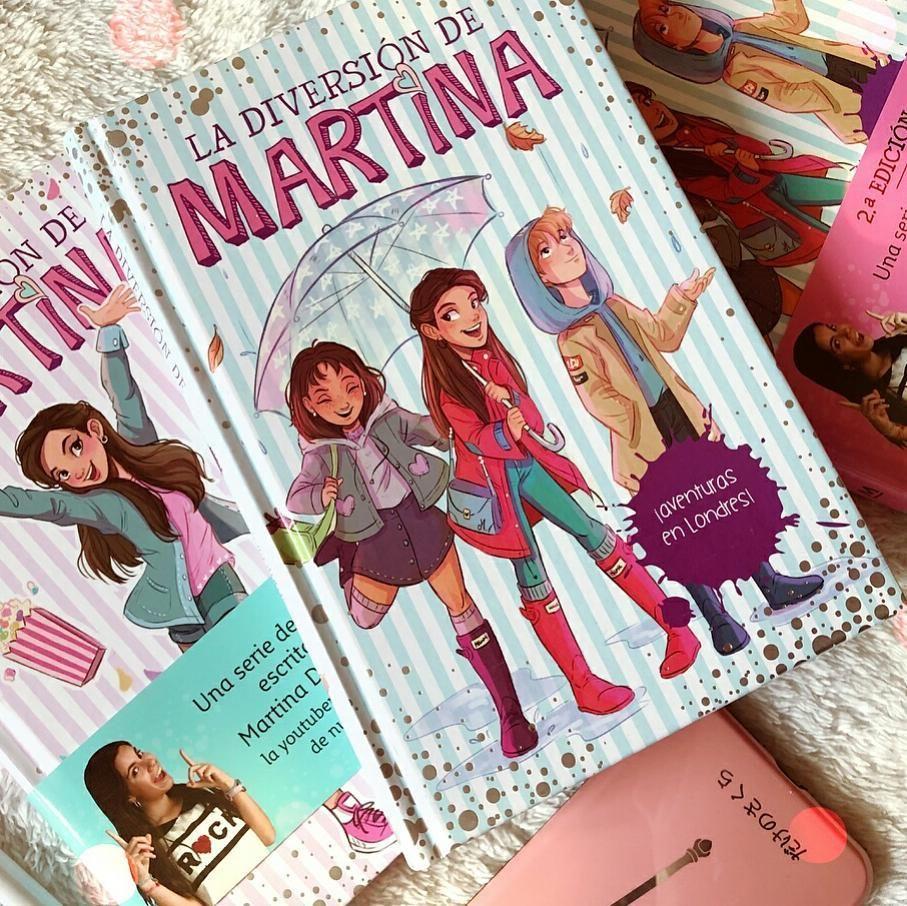 """83 Me gusta, 4 comentarios - Megustaleerkids (@megustaleerkids) en  Instagram: """"El nuevo libro de @la_diversion_de_martina está siendo un éxito  y ya va por ..."""