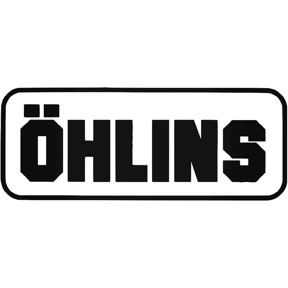 ohlins logo vinyl decal sticker aftermarket decals
