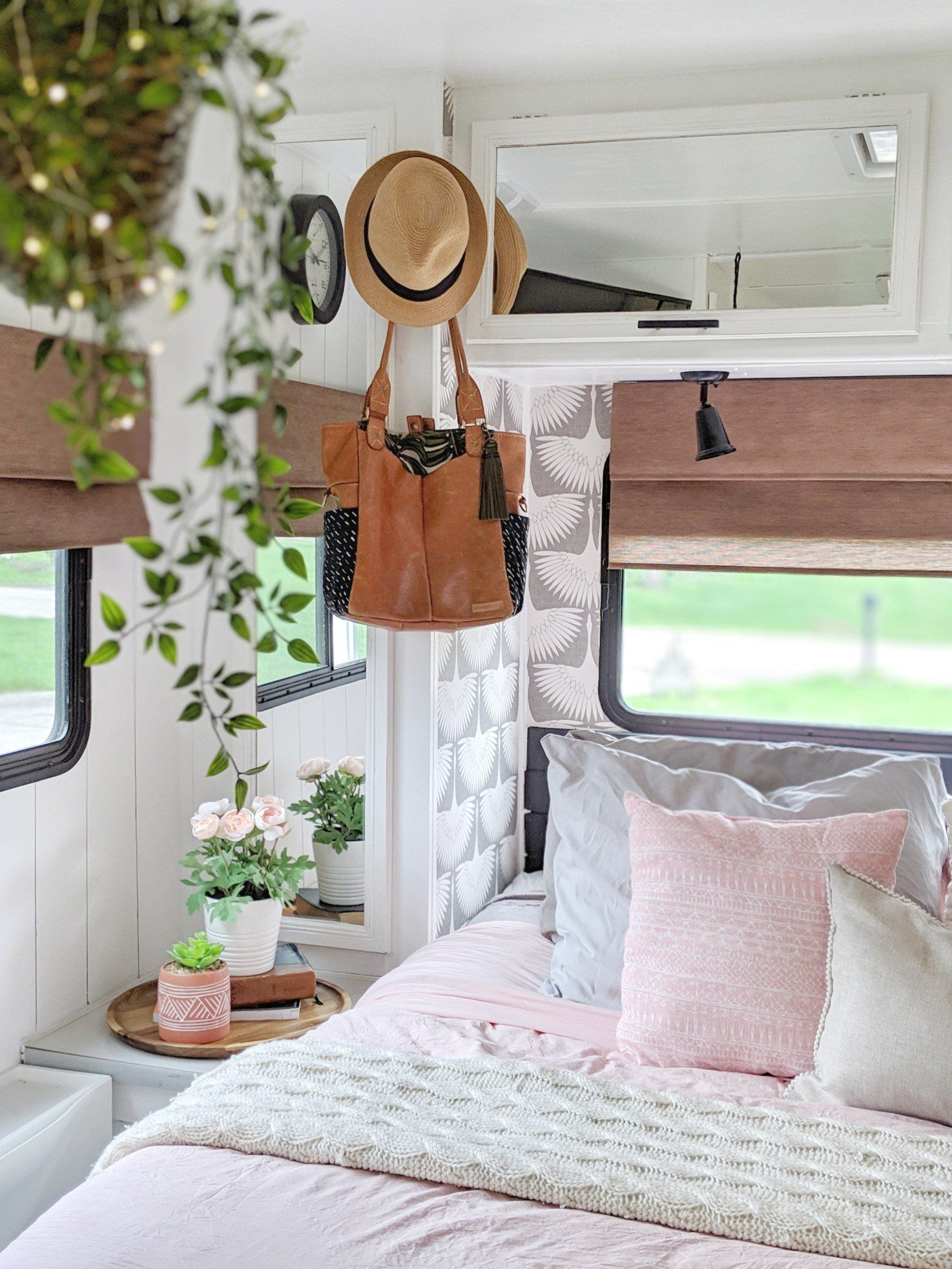 Summer Home Tour On Wheels Our Renovated Rv Summer House