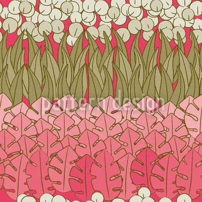 Mommies Flower Bed designed by Martina Stadler, vector download available on patterndesigns.com