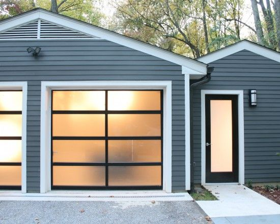 Garage Conversion Design Windows Glass Garage Door Garage Door Colors Garage Door Styles