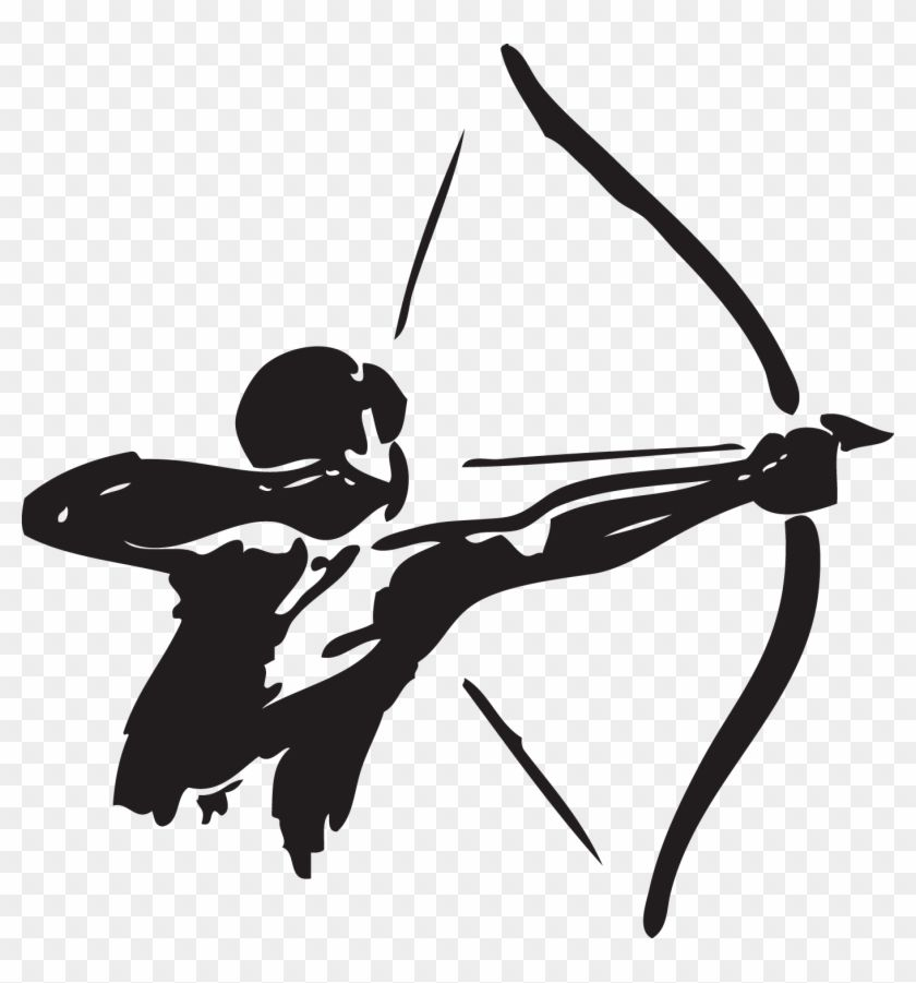 Download And Share Clipart About Archery Bow And Arrow Hunting Clip Art Man Bow Arrow Vector Find More High Quality Free T Bow Arrows Arrow Clipart Clip Art