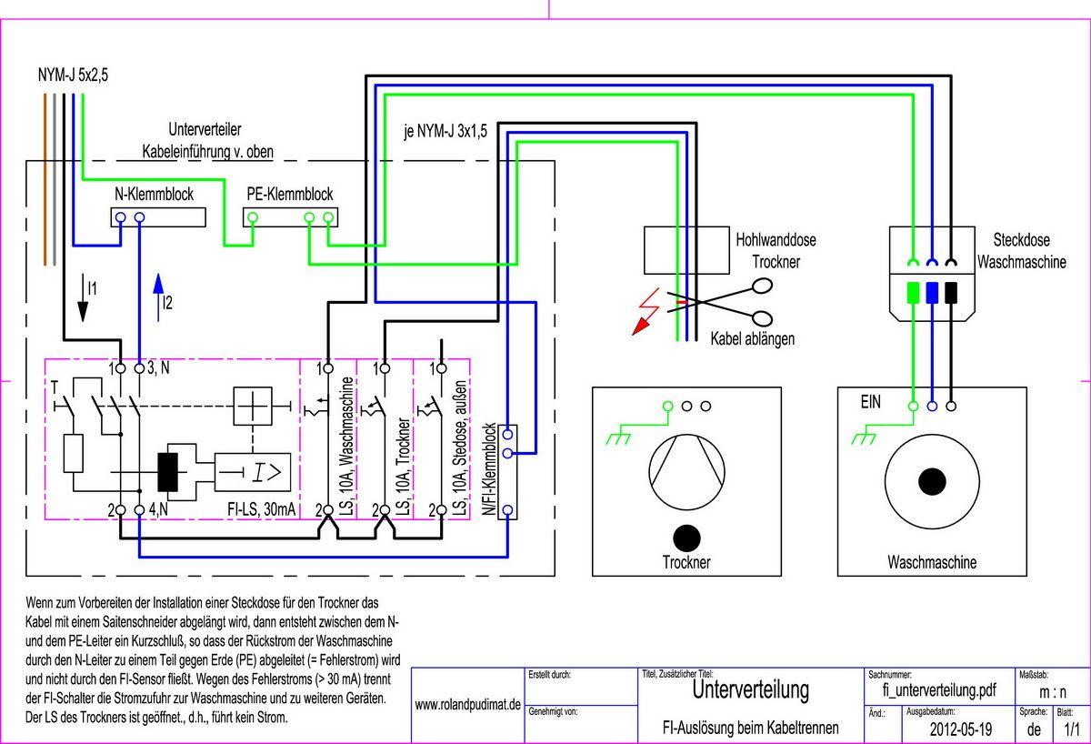 Trend Schaltplan eines Thermostats f r eine Fu bodenheizung Elektrische Schaltungen f r die Hausinstallation Pinterest