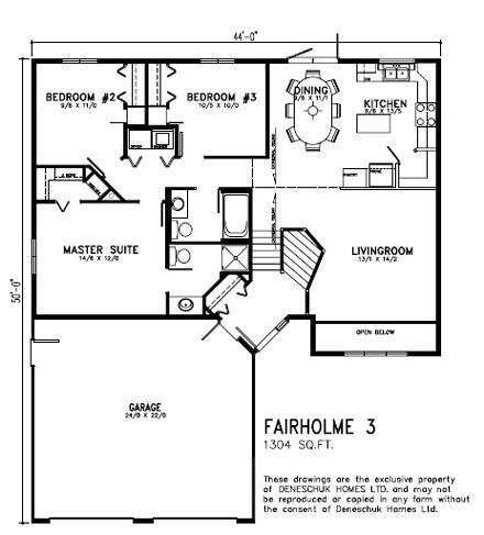Deneschuk Homes 1300  1400 sq ft Home Plans RTM and Onsite  Plans  House plans Ranch house