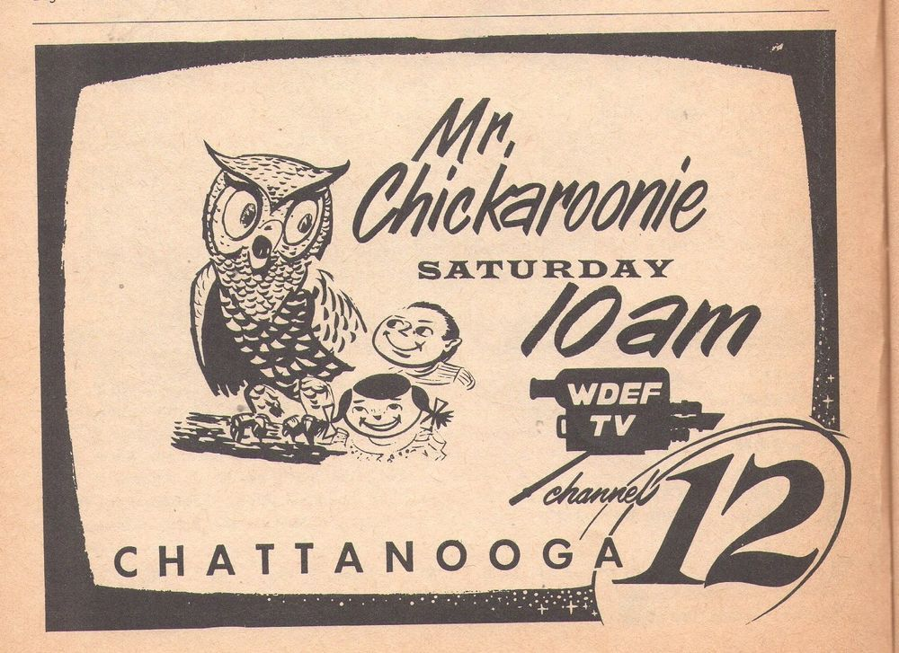 Details about 1957 Georgia Tv Guide~Mr Chickaroonie~Jimmy
