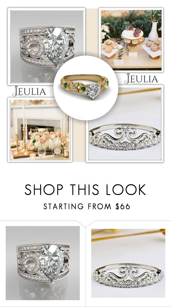 """Jeulia 2"" by sena87 ❤ liked on Polyvore featuring women's clothing, women's fashion, women, female, woman, misses, juniors, jewelry and jeulia"