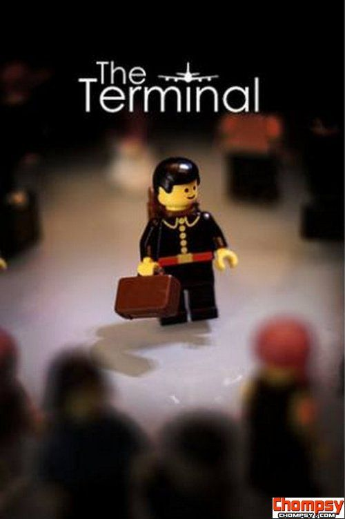 Lego Movie Poster The Terminal Lego Movie Posters Pinterest - 15 awesome movie scenes recreated with lego