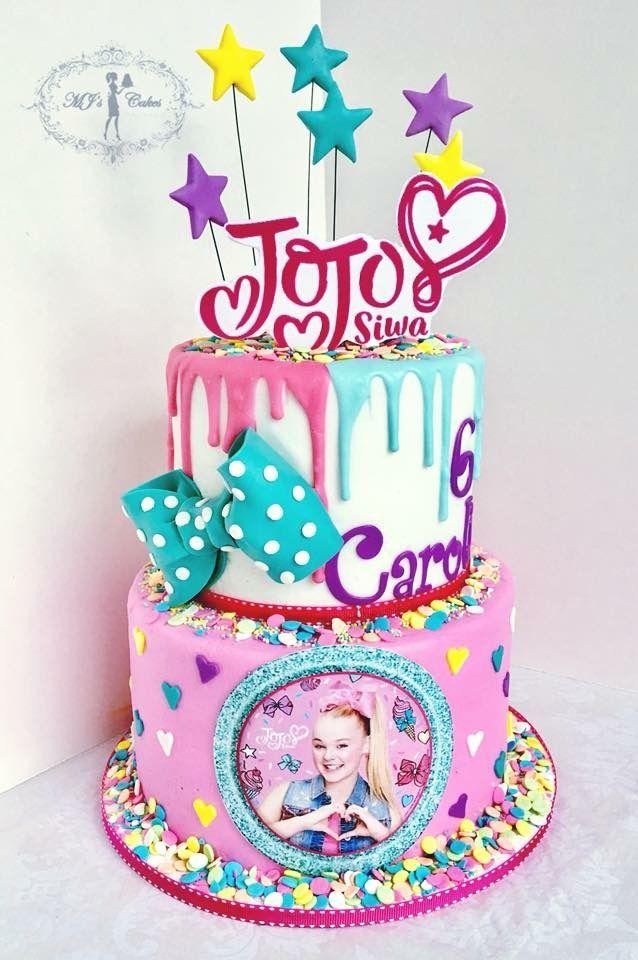 JoJo Siwa themed birthday cake MJs Cakes Pinterest Jojo siwa