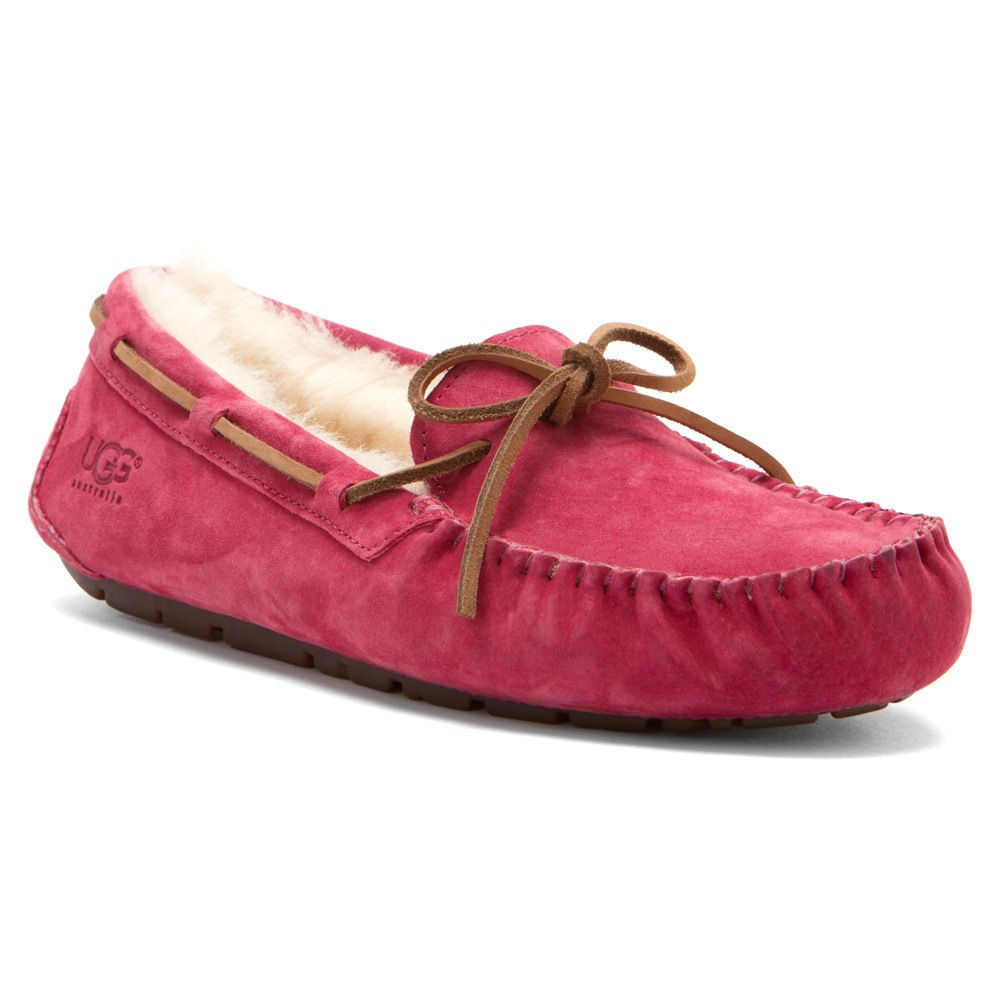 d4083719ad8 New UGG Australia Women's Dakota Slippers Dark Dusty Rose Size 8 *IN ...