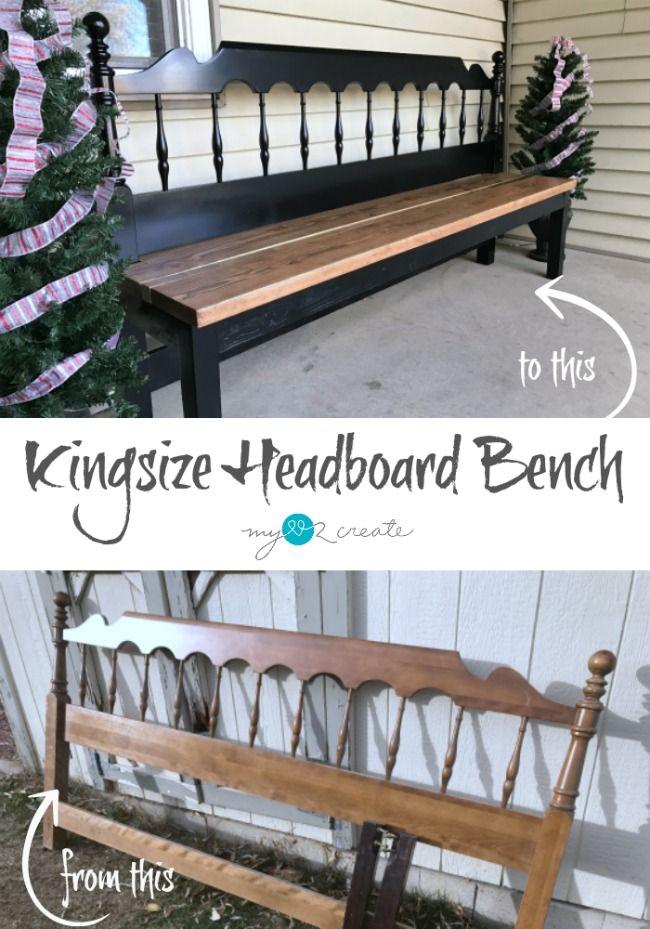 How to Make a Kingsize Headboard Bench
