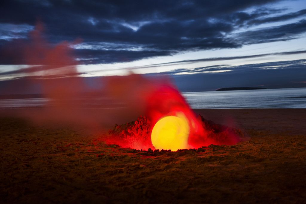 Alien Landscapes Made on Earth With Smoke Bombs and Lasers ...