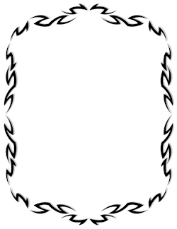 Page 8 Clip Art Borders Borders And Frames Tribal