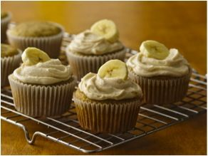 Banana Cupcakes With Browned Butter Frosting