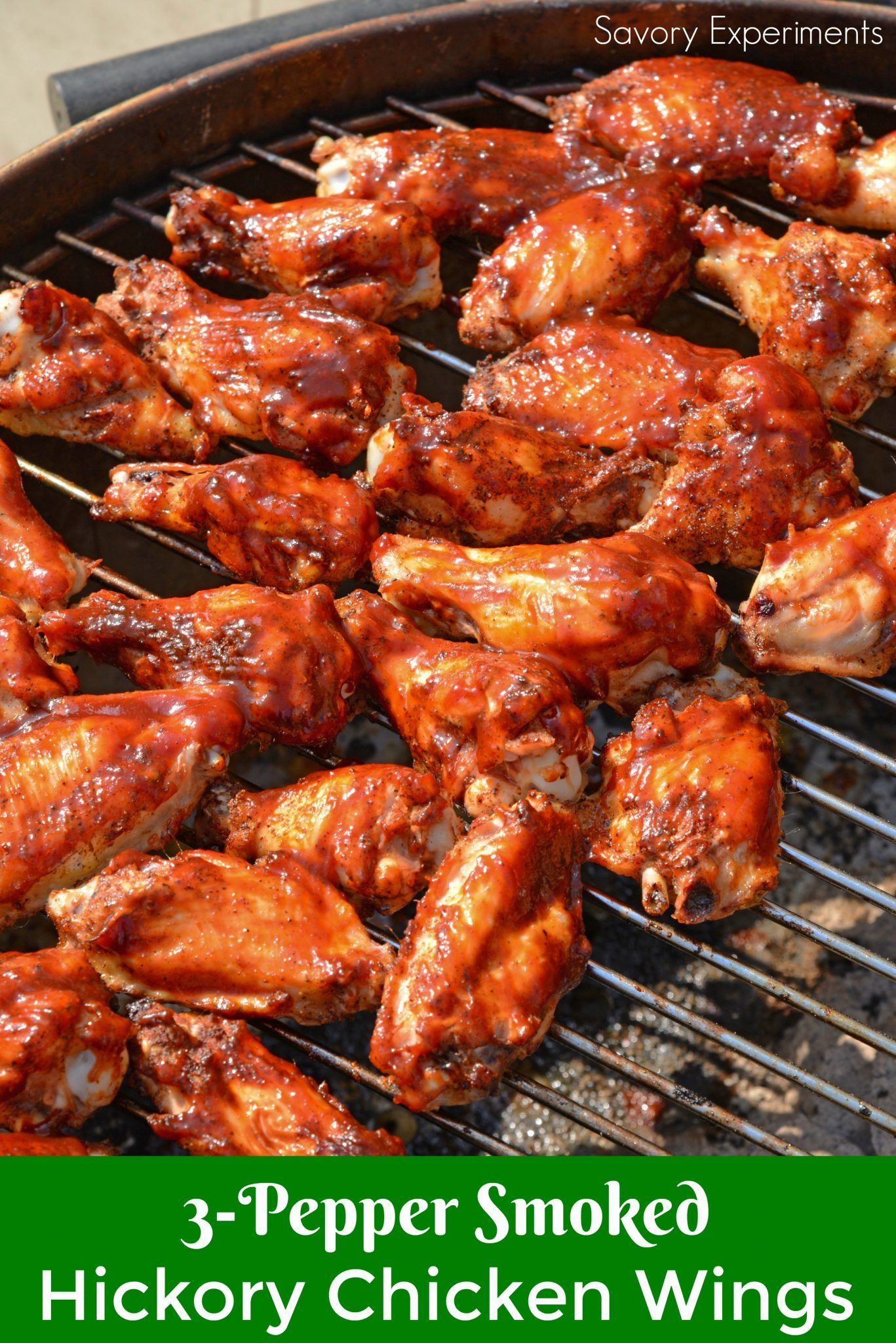 Watch Smoked Hickory Chicken Wings Recipe video
