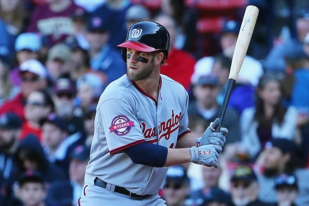 1. RF Bryce Harper, Washington Nationals