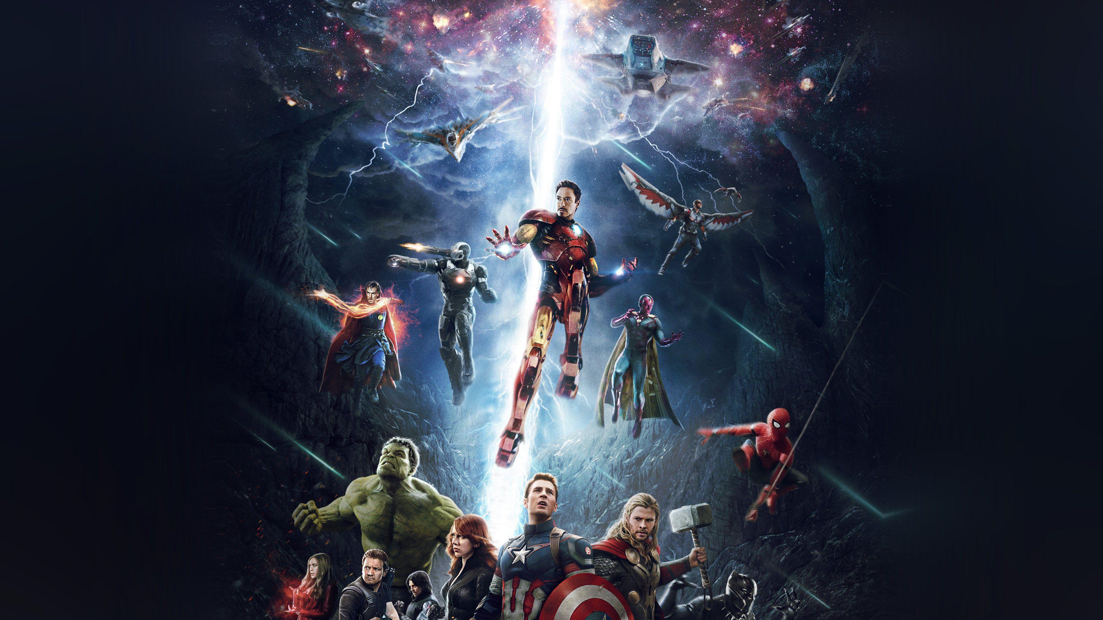 Wallpaper 4k Avengers 2018 New 4k 4kwallpapers, avengers