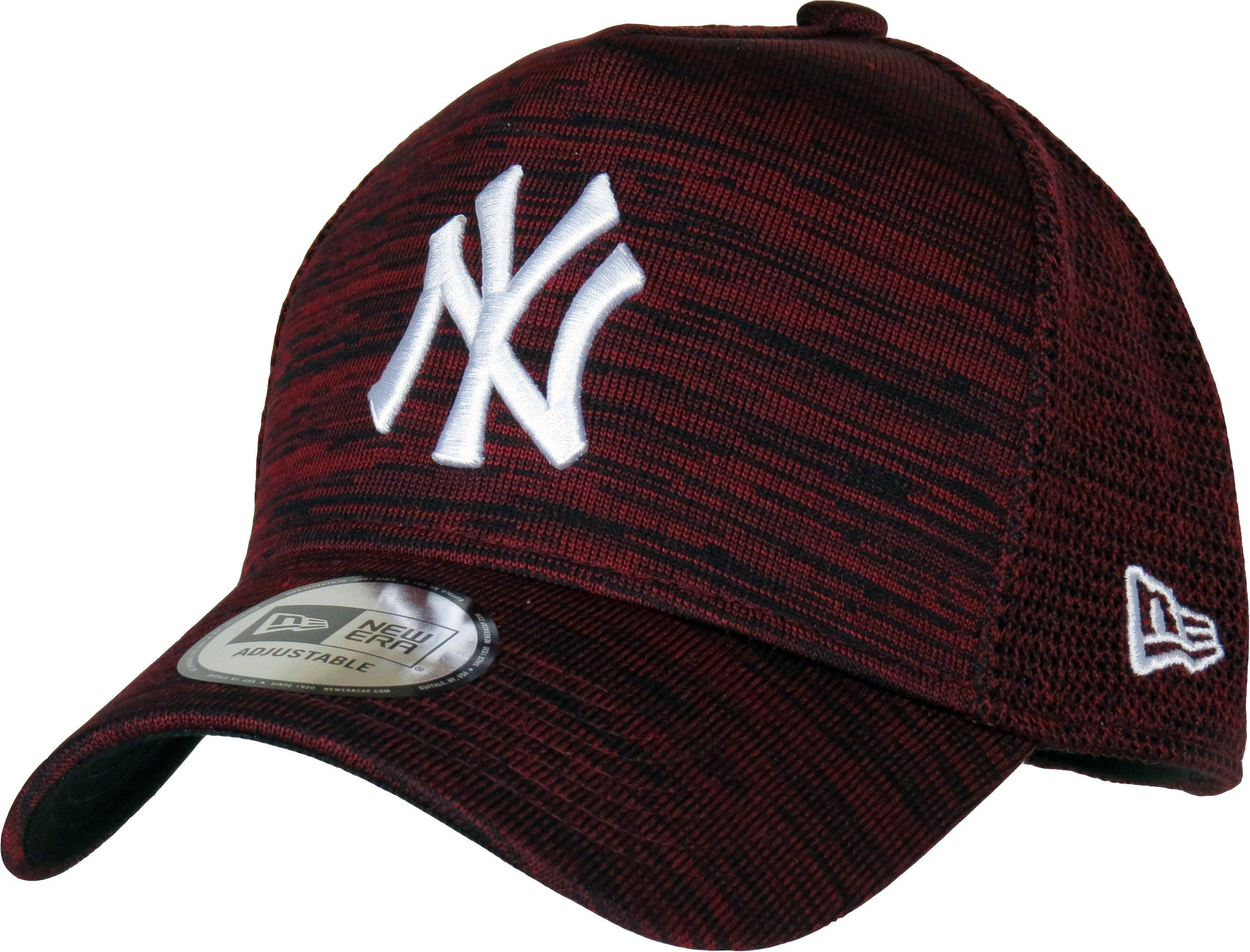 1960ba2d472 New York Yankees New Era Engineered Fit Trucker Cap. Maroon and Black  fleck