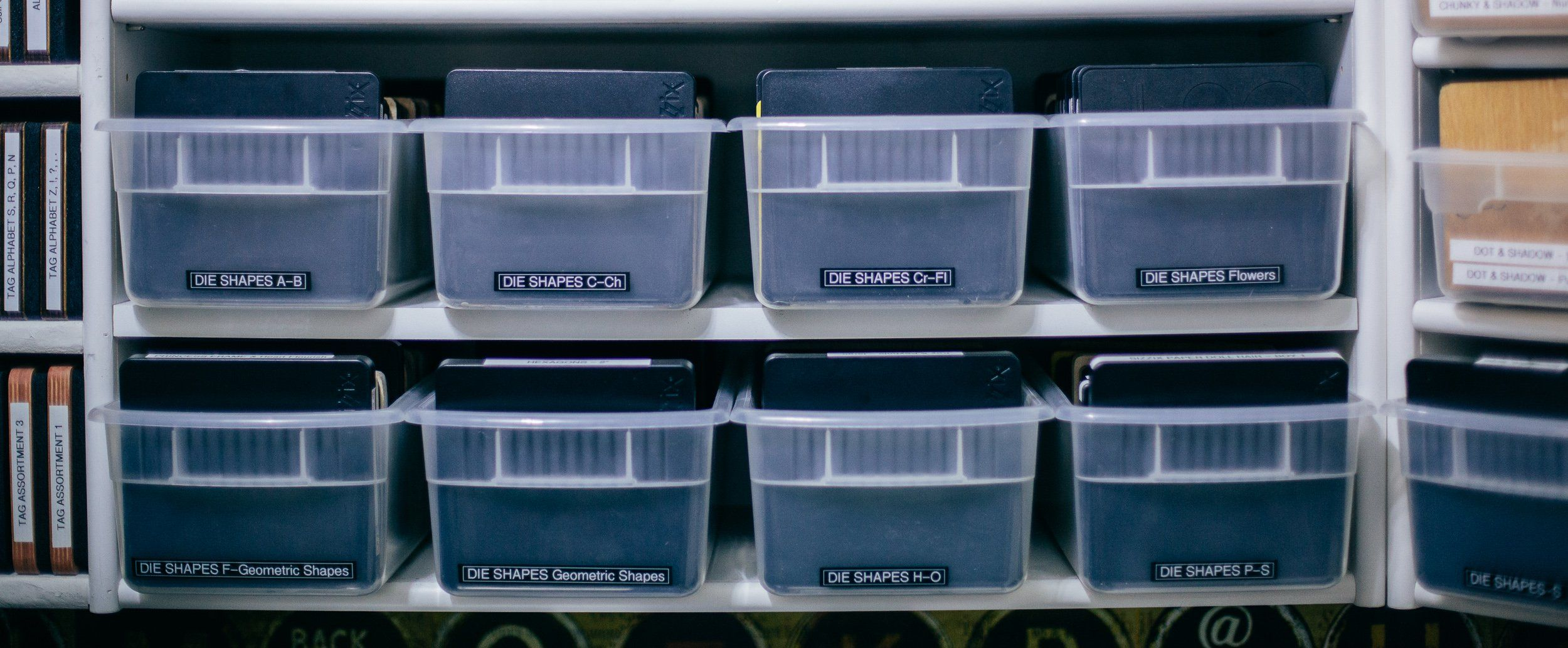 This Is How I Store And Organize My Large Dies