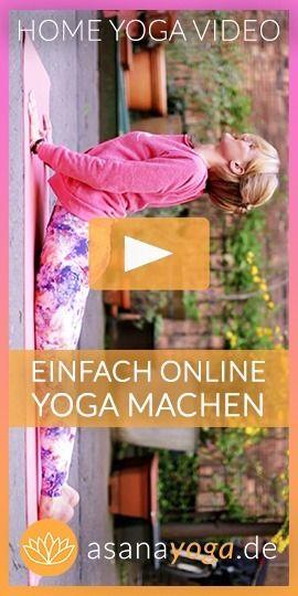Yoga jeden Tag und überall (mit Halbmond Anleitung) #pilatescourses