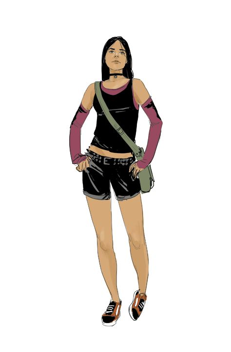Phil Noto's work/Some very old X-23 sketches