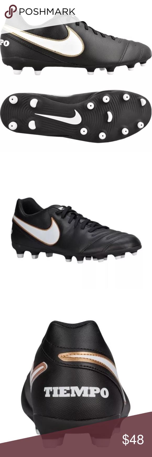 e02b7489d Nike Tiempo Rio III FG Soccer Cleats (819233-010) Nike Tiempo Rio III FG  Soccer Cleats (819233-010) Nike Shoes Athletic Shoes