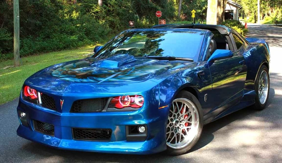 2017 Pontiac Trans Am Blue