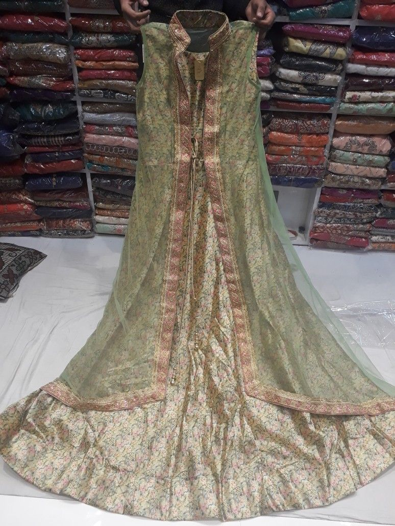 8c603cda83e Jacket style dress by punjab fashion store apra