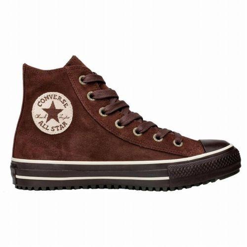 CONVERSE All Star Chucks CT Winter Mid Boot braun Suede 35