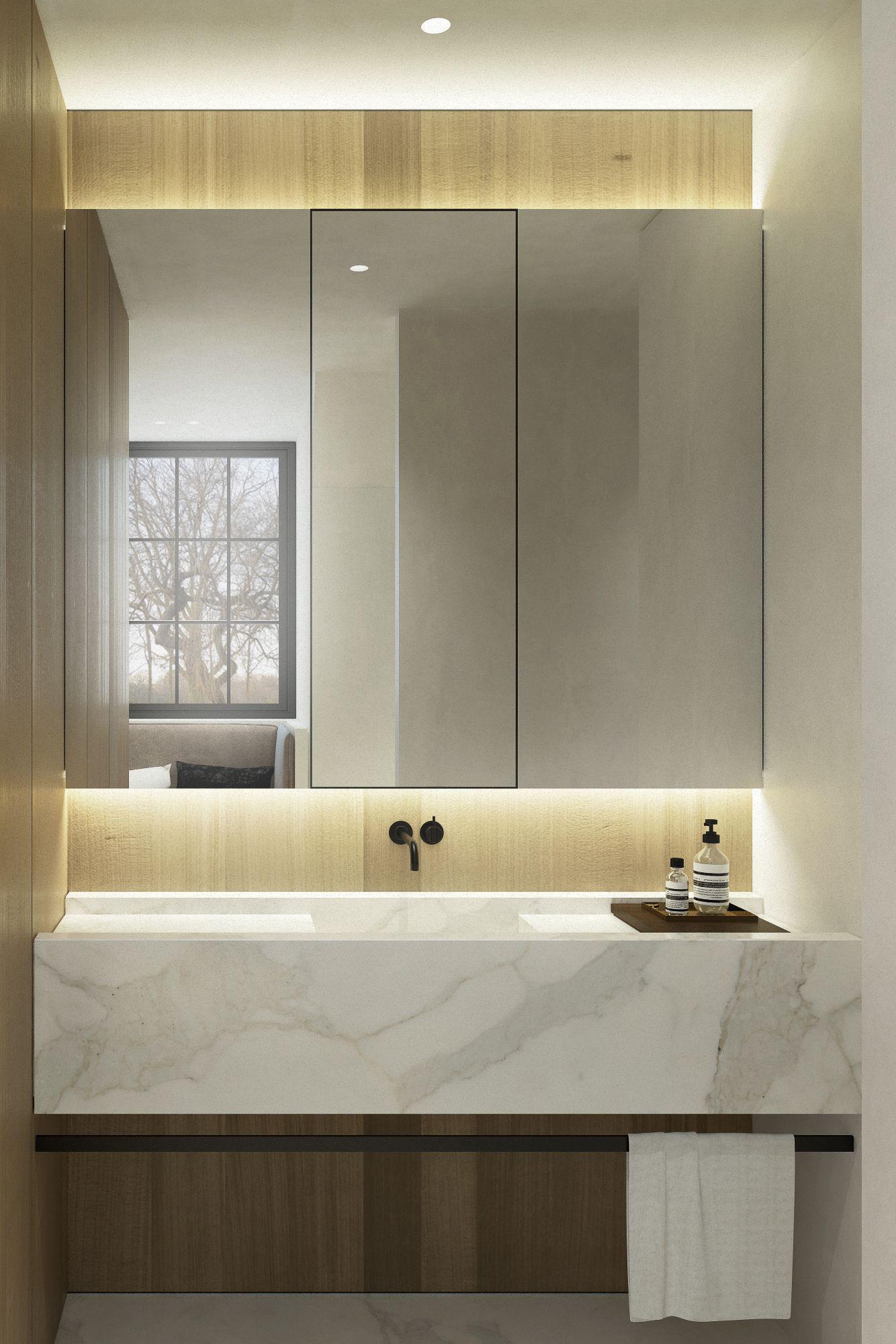 JV House by Dieter Vander Velpen Architects bathrooms