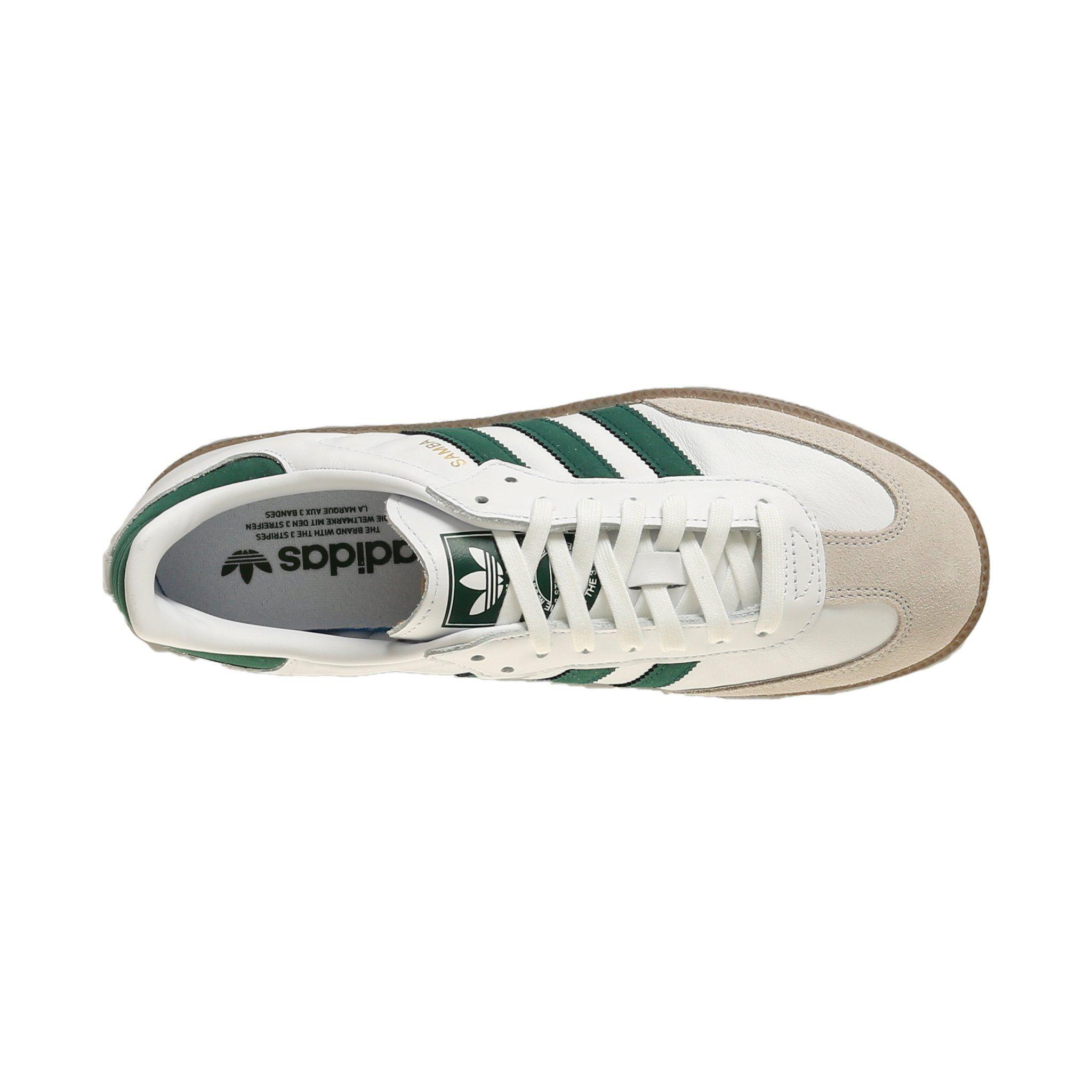 cb7e32d1d1cd Adidas Samba OG - White   Collegiate Green