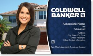 Coldwell Banker Business Card Templates Coldwell Banker Business - Coldwell banker business card template