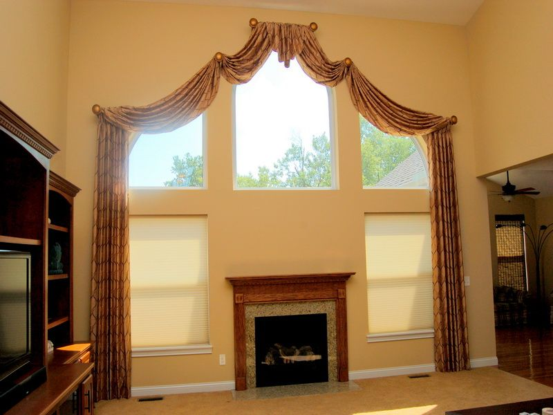 Arched Window Treatments To Beautify Your Room Design Arched