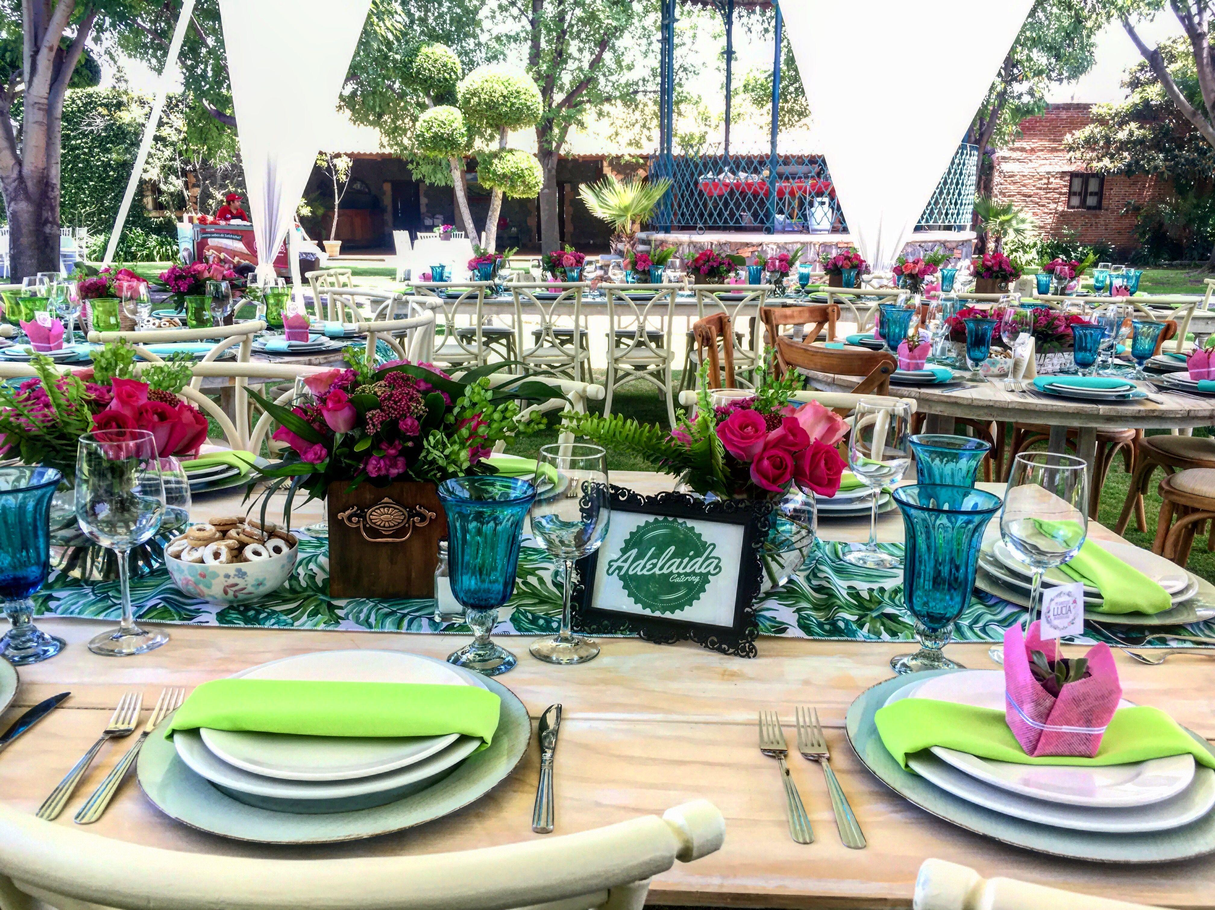 #catering #tablesetting #tablesettingideas  #banquetes #fiesta #montaje #mobiliario #cateringevent #party #eventosqueretaro