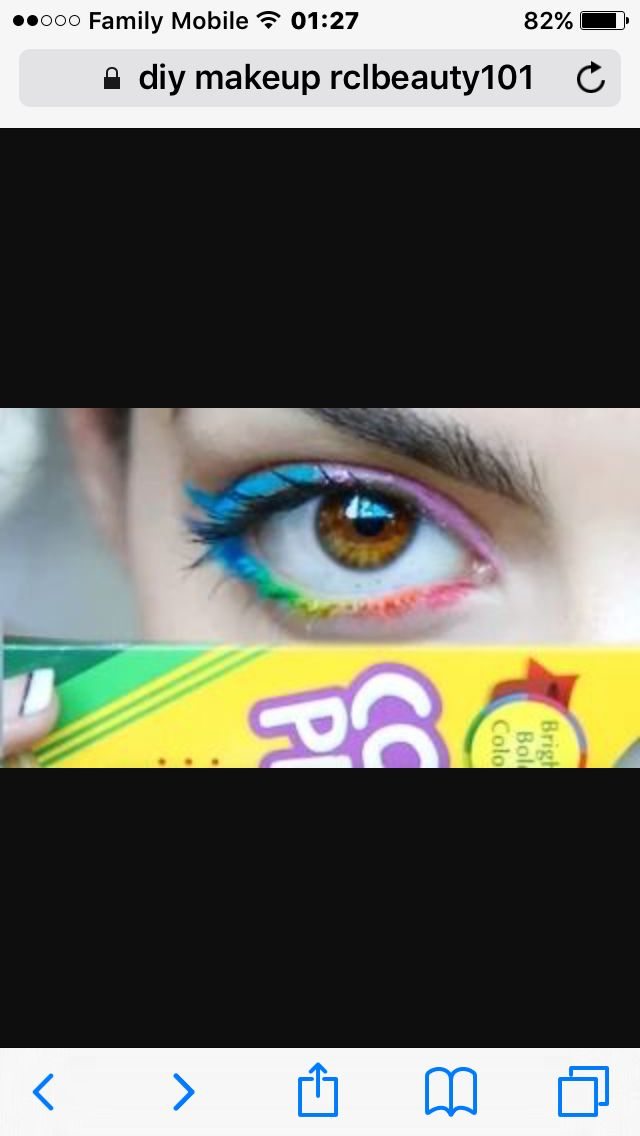 rclbeauty101 colored pencil eyeliner it works amazingly makeup