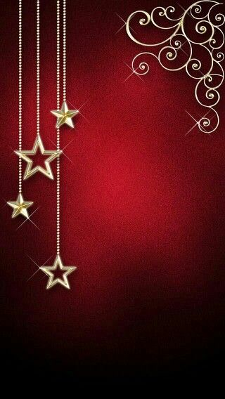 Red Gold Stars Wallpaper Wallpaper Iphone Christmas Holiday Wallpaper Christmas Wallpaper