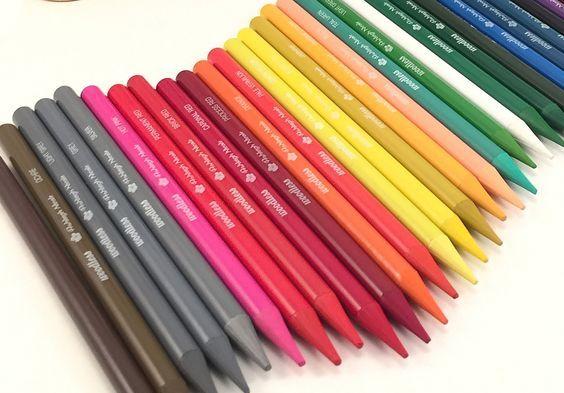 Woodless Color Pencils 36 Vibrant Colors Art Colored Pencils