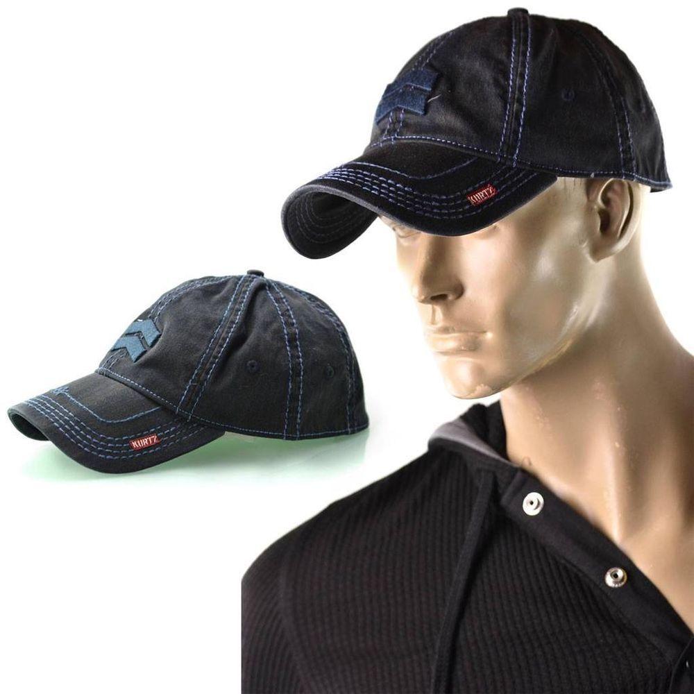 ac99f93c11f A.Kurtz Hat Mens Albert Military Trucker Lid Baseball Cap One Size Flex All  NEW