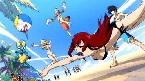 Team natsu and Lucy vs. team GRAYZA XD