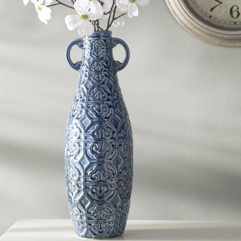 Medium Blue Floor Vase Old Dominon Pinterest Blue Floor And