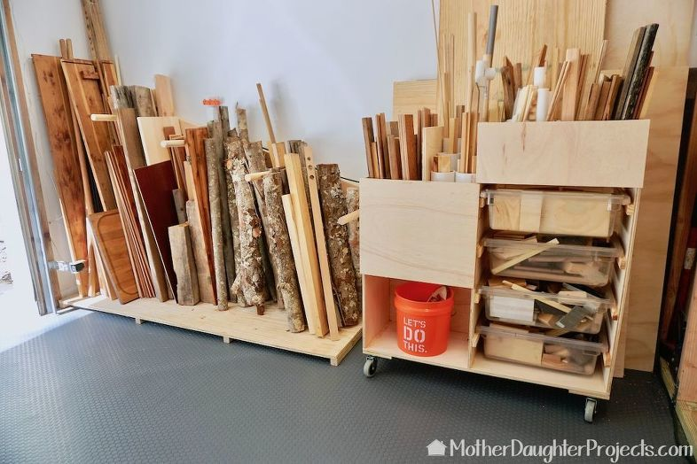 How To Build Storage For Scrap Wood Of All Sizes Wood Storage