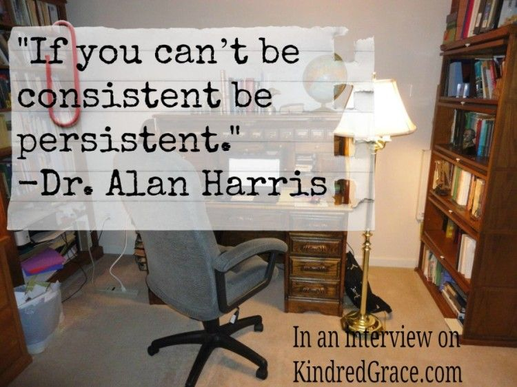 Advice to Writers from @TalesOfLarkin author: If you can't be consistent, be persistent