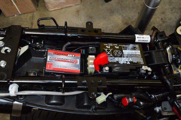 Power commander for tuning the UK Honda Grom  | The Honda