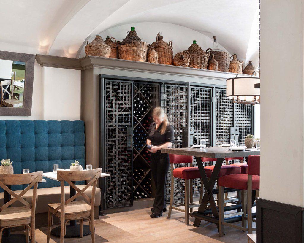 Chalkboard Healdsburg Communal Table Chalkboard Table Wine Storage